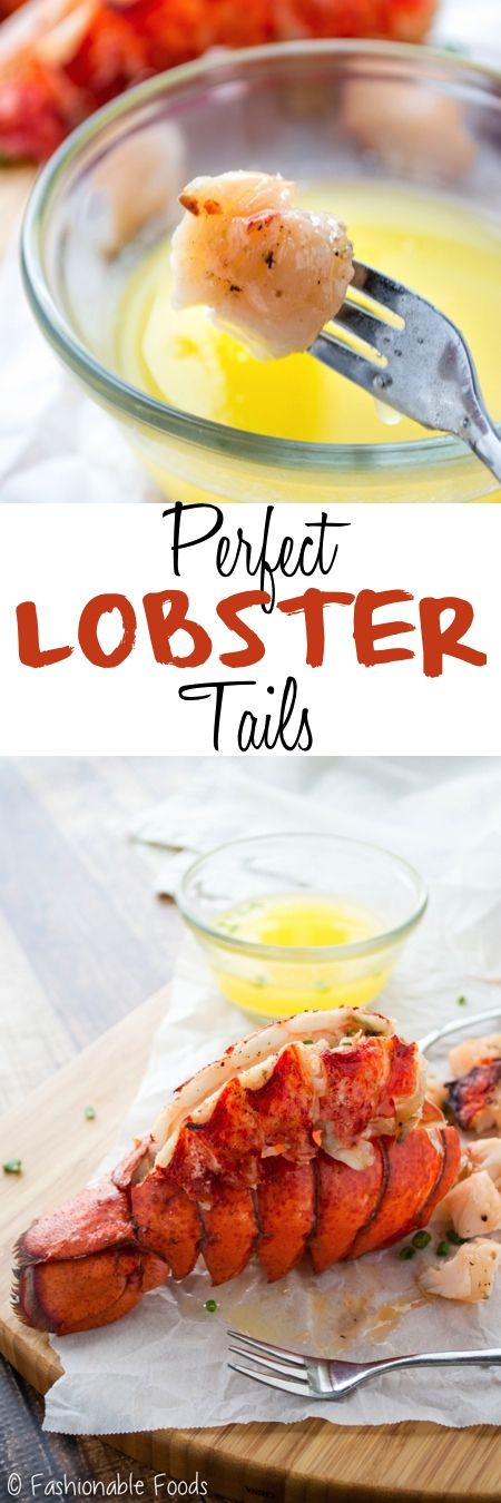 Succulent lobster tails make a wonderful main dish for your New Year's Eve celebration. These perfect lobster tails are partially steamed to keep them juicy, then they are basted with butter and finished off under the broiler for unbeatable flavor!