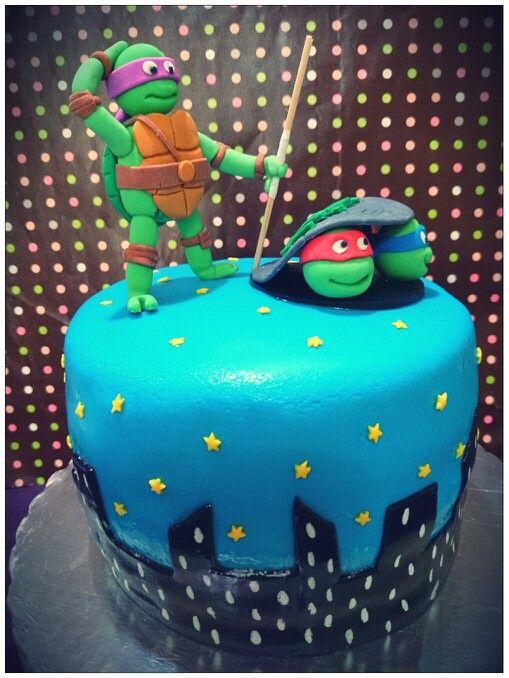 Pastel Tortugas Ninja Oreo Y Chocolate
