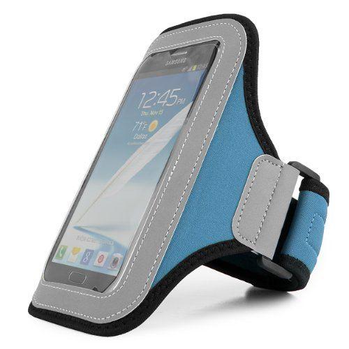 Premium Workout Armband Case for Huawei Google Nexus 6P + SumacLife TM Wristband (Blue)