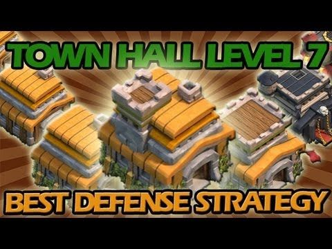 BEST Town Hall Level 7 Defense Strategy for Clash of Clans +