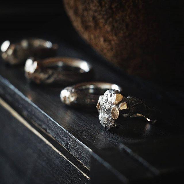 SHULE rings  #shulejewelry #accessorize #handcraft #sterlingsilver #fashion #art…