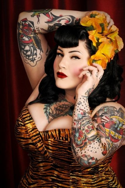 17 best images about pin up girlz on pinterest for Best tattoo magazine