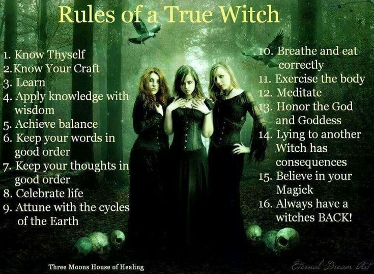 how to become a true witch