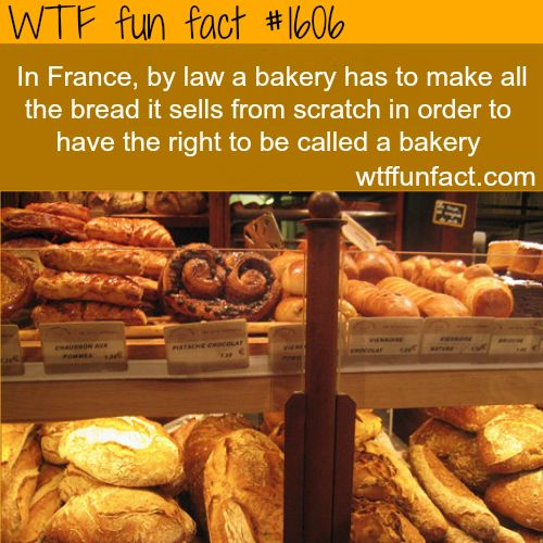 Well, guess this means Truckee Sourdough Company is considered a real bakery in France! Yay for baking bead from scratch!