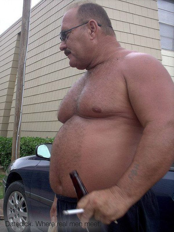 from Gary gay old fat chubby