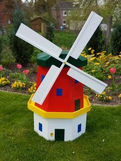 Bunte Windmühle Bauanleitung zum selber bauen | Heimwerker-Forum