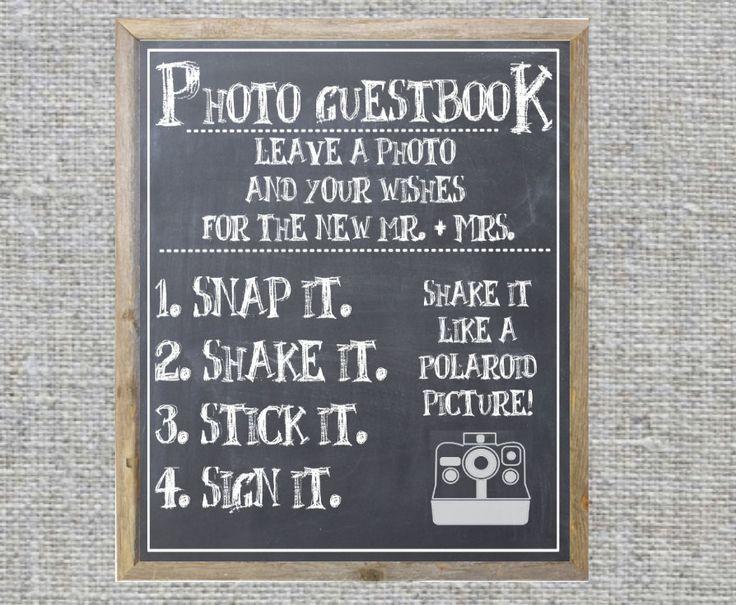 Best 25+ Photo guest book ideas on Pinterest Polaroid wedding - sample guest book template