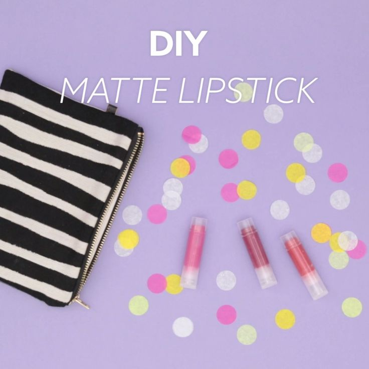 This DIY beauty video tutorial will teach you how to make matte lipstick.