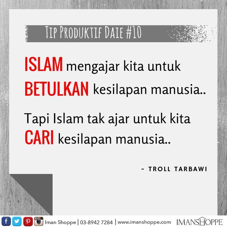 Tip Produktif Daie #10 oleh Troll Tarbawi!