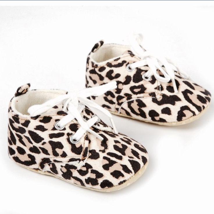 Leopard soft shoes PRE ORDER