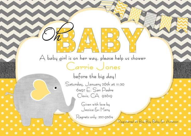 132 best baby shower invitations images on Pinterest Baby shower - baby shower invitations templates free