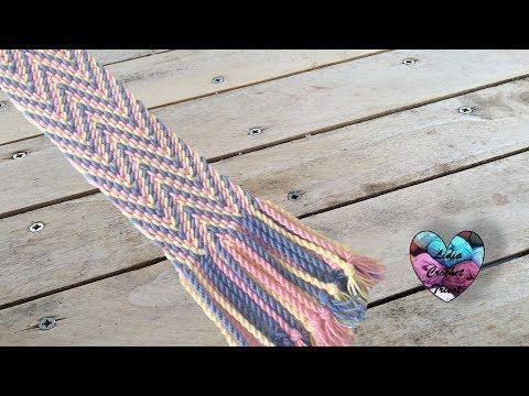 Cordons pour Gasa ou Fajon Mochila Wayuu - YouTube
