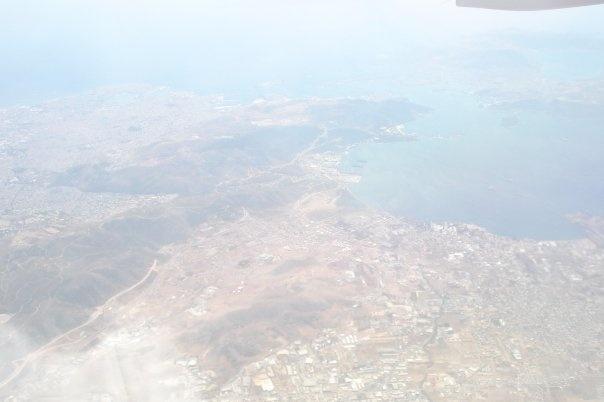 Aerial view of Attica, Greece
