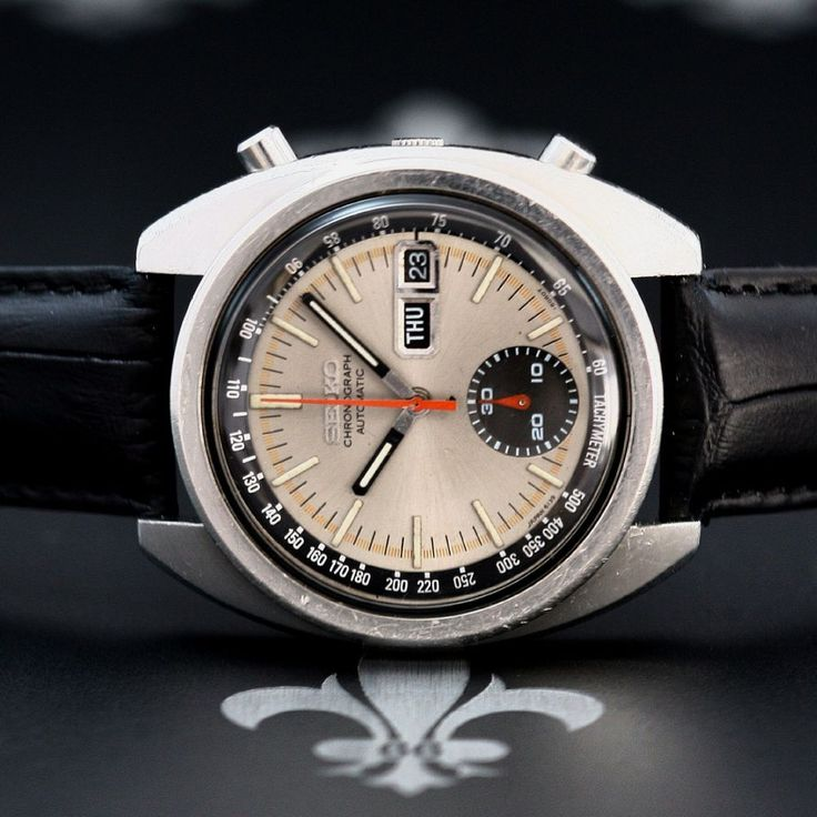 1970's SEIKO Vintage Automatic Chronograph D&D Watch Ref. 6139-6012 Cal. 6139B