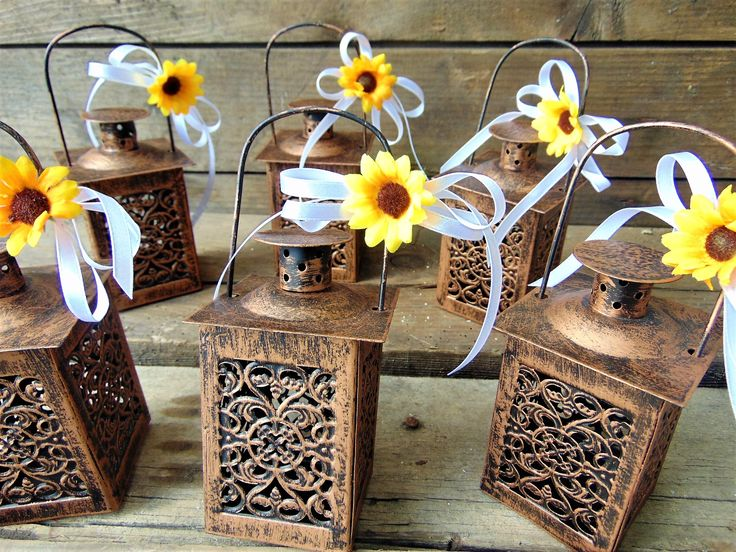 Excited to share the latest addition to my #etsy shop: Set of 10 Rustic Wedding Lanterns, Moroccan Lantern, Rustic Wedding, Wedding Centerpiece, Sunflower Wedding, Mini Candle Holders, gift idea