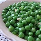 Italian Peas... a good side dish to serve with pasta instead of a salad. 2 tablespoons olive oil 1 onion, chopped 2 cloves garlic, minced 16 ounces frozen green peas 1 tablespoon chicken stock salt and pepper to taste Heat and serve.