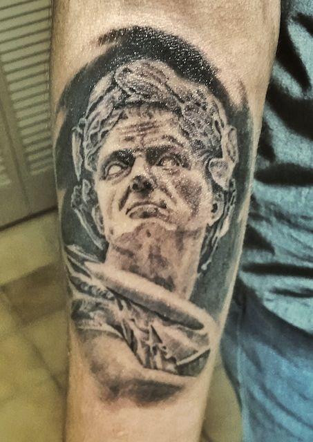 Julius Caesar tattoo by burutattoos | tattoo | Tattoos ...