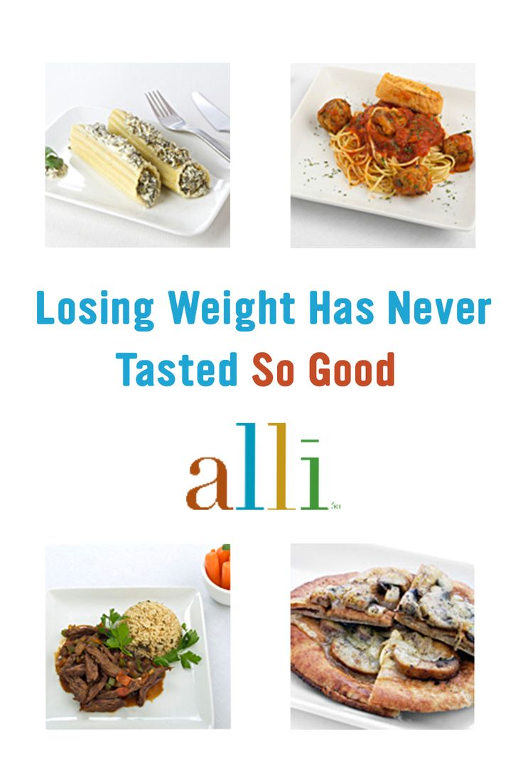 At alli®, we believe that eating healthy should be delicious! We have over 50 well-balanced and yummy meals that will help you reach your weight-loss goals. alli® (orlistat 60 mg) is for weight-loss in overweight adults, 18 years and older, when used along with a reduced-calorie and low-fat diet. Follow label directions.