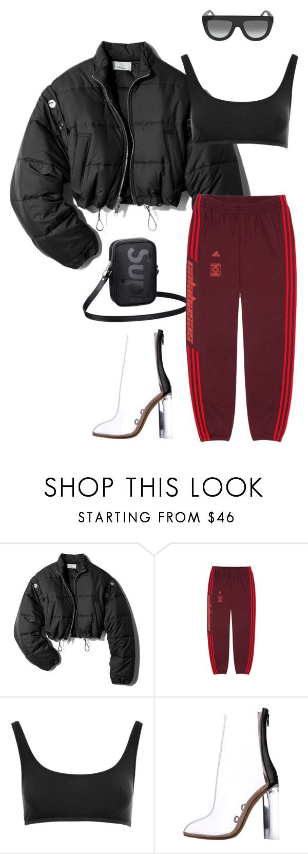 """""""Untitled #676"""" by milly-oro on Polyvore featuring 3.1 Phillip Lim, Louis Vuitton, Yeezy by Kanye West and CÉLINE"""