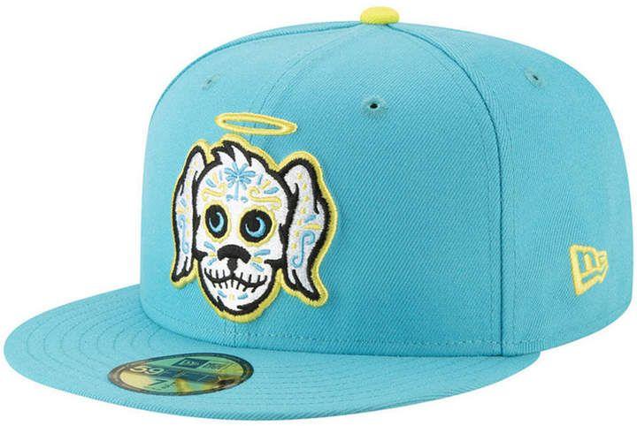 New Era Charleston Riverdogs Copa De La Diversion 59fifty Fitted Cap Reviews Sports Fan Shop By Lids Men Macy S In 2021 New Era Hats Fitted Hats