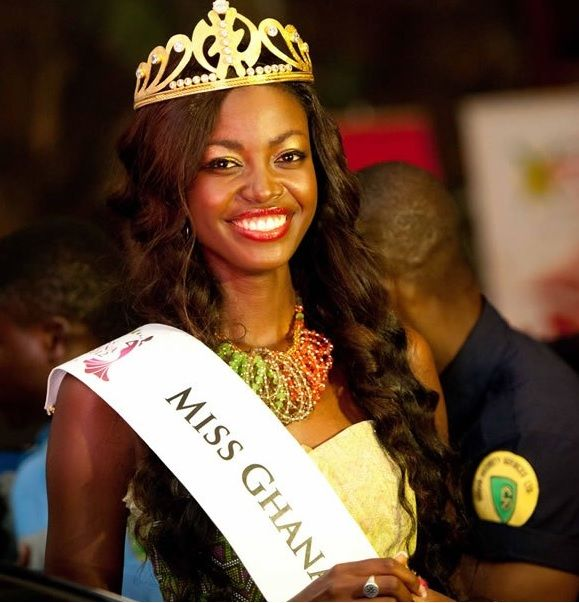 Miss World Ghana Naa Okailey Shooter was the second runner-up of Miss World 2013 pageant