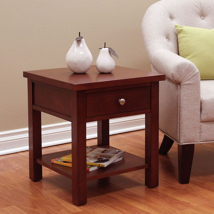 DonnieAnn Oakdale Cherry End Table