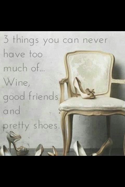 Wine Friends  Shoes