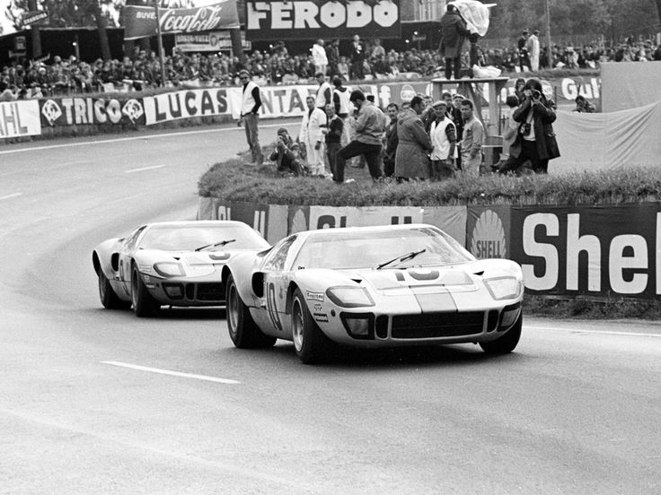The GT 40 changed racing forever, and made Carroll Shelby the legend that he is!