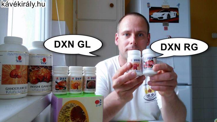 Ganoderma kivonatok a DXN cégtől: RG és GL., a Méregtelenítők Királya és a Kiegyensúlyozó