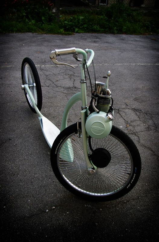 Solex step. is it a motorcycle, a bike, or a scooter?