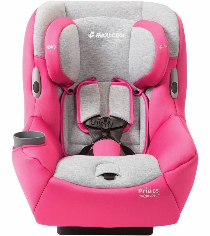 The Maxi Cosi Pria 85 Convertible Car Seat is the only premium convertible seat that offers a first-class ride between 14 and 85 pounds.