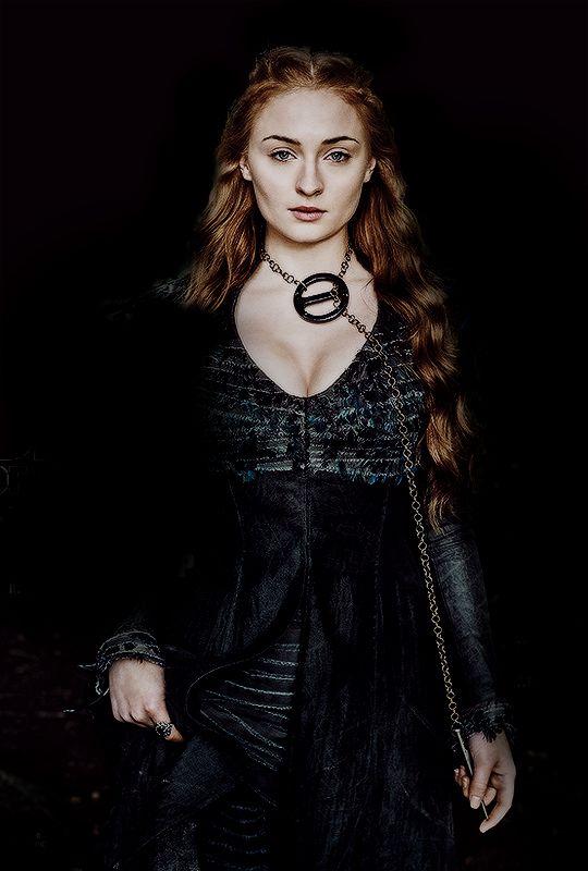 """jonsnows: """" """"Sansa Stark - Sophie Turner on the April 2016 cover of EW """" """""""