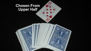 """If a young kid is going to perform a card trick, I think that this is the one. It's a basic """"find a card"""" trick that is easy to learn and do."""