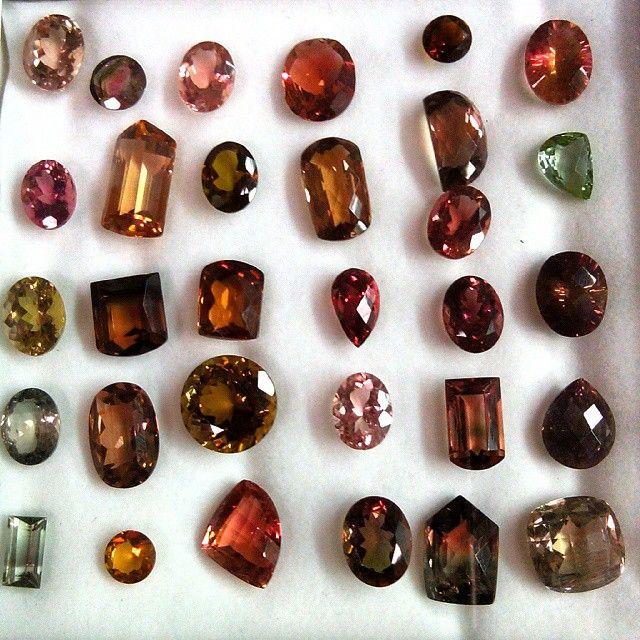 Mix Colour Tourmaline Gemstones.