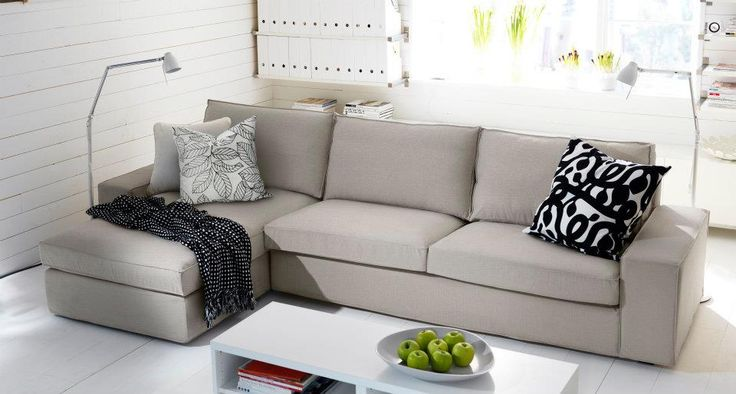 kivik sofa and chaise couches pinterest family rooms ikea sofa and sofas. Black Bedroom Furniture Sets. Home Design Ideas