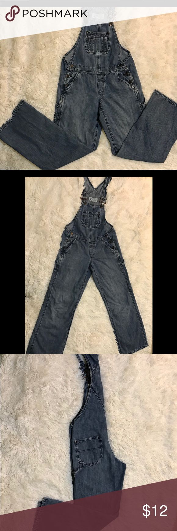Old Navy Denim Overalls Old Navy Denim Overalls. Size XS. Used but still has lots of life left! Old Navy Pants Jumpsuits & Rompers