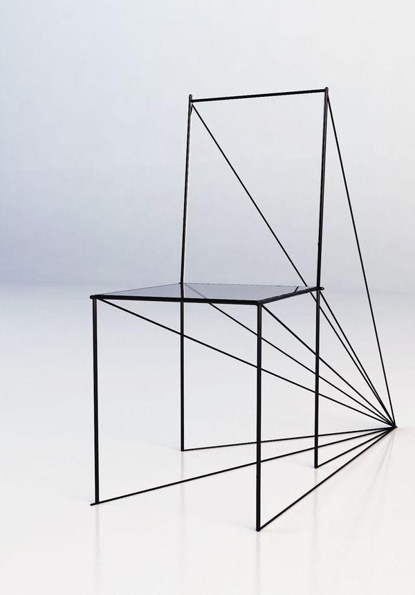 Perspective Chair   Artem Zigert   http://www.takeacharcoal.com/perspective-chair/