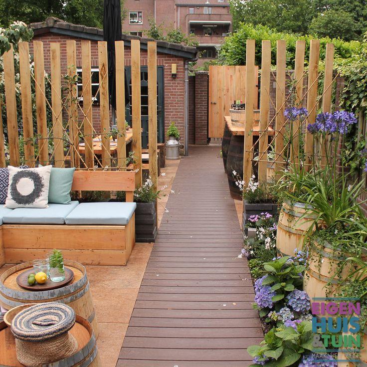 Mannen- en vrouwentuin - Eigen Huis & Tuin aflevering 13  Mannentuin - garden - tuin - vrouwentuin - buitenbar - loungebank - loopvlonder - flowers - plants - bloemen - planten
