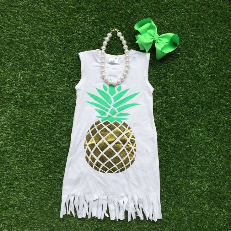 Pineapple Delight Fringe Dress