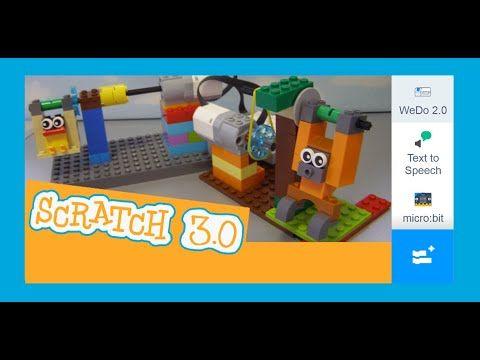 Scratch 30 Lego Wedo And Microbit Swinging Animals Youtube