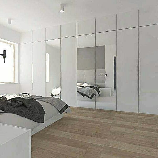 Projekt sypialni w minimalistycznym klimacie #projekt #sypialni #slupca #swarzedz #architekt #minimalizm