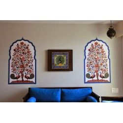 Kcwalldecals Offers Exclusive Ethnic Indian Wall Murals Online In India. Part 43