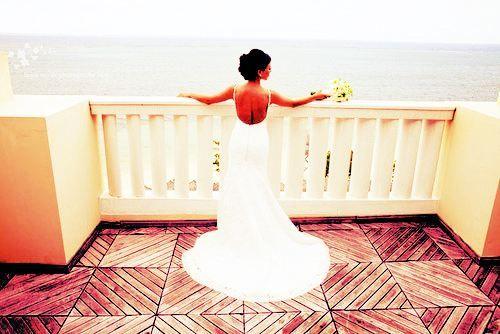 Breath taking: Wedding Dressses, Backless Wedding Dresses, The View, Wedding Photos, Gorgeous Dresses, Dreams Dresses, The Dresses, Destinations Wedding, Beaches Wedding