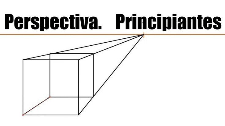 Tutorial Perspectiva. Principiante, 1 punto de fuga. crear un cubo, divi...