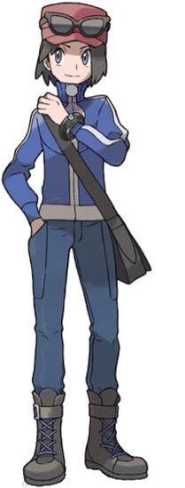 Trainer Calem Pokemon X/Y