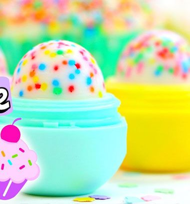 Handmade cupcake EOS lip balm // Süti EOS ajakbalzsam házilag egyszerűen // Mindy - craft tutorial collection // #crafts #DIY #craftTutorial #tutorial