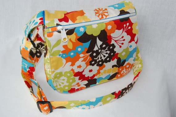 Original Small Messenger Bag by PecanTreeCreations, $48.00