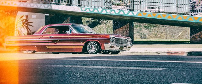 A Hollywood top and a right-hand drive conversion make Robert Arreola's 1962 Chevrolet Impala SS one unique ride.