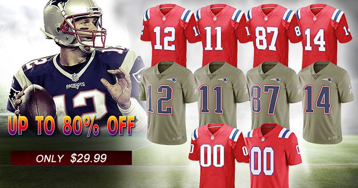 Shop for Your New England Patriots Jerseys,T-shirt,Caps,Hoodies,Up to 80% Off, Only $29.99. Tom Brady Jersey,Rob Gronkowski Jersey,Julian Edelman Jersey,Chris Hogan Jersey And All Player Football Jerseys With Free Custom,100% Stitched,5-7 Days Delivery!
