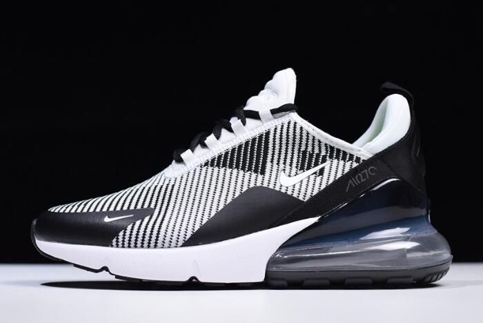 newest 58227 04897 NIKEiD Air Max 270 Black Grey White AO1023-993 Men s Size for sale online
